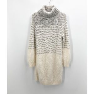 Anthro   Sleeping On Snow Sweater Dress